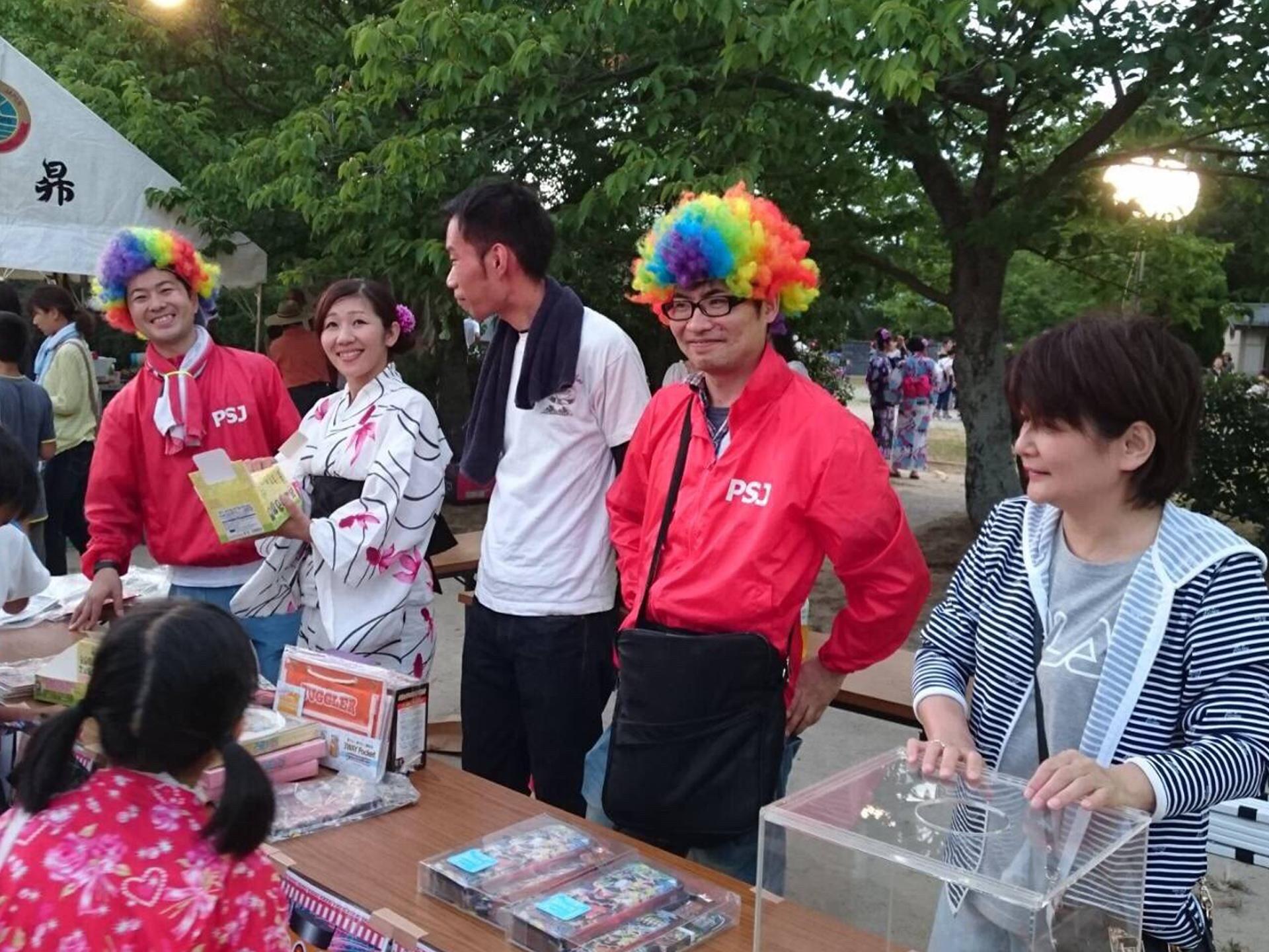 綾羅木地区夏祭り